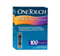 Тест-полоски УанТач Ультра (OneTouch Ultra) №100