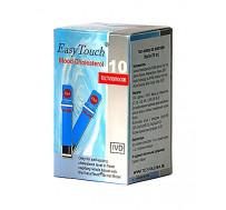 Тест-полоски на холестерин ИзиТач (EasyTouch® Cholesterol) (10 шт.)