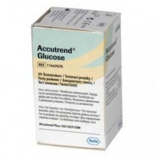 Тест-полоски Аккутренд Глюкоза (Accutrend Glucose) №25