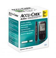 """Глюкометр """"Акку-Чек Актив"""" (Accu-Chek Active), + 10 тест-полосок и 10 ланцетов в комплекте"""