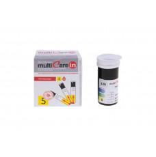 Тест-полоски Multicarein на триглицериды, 5 штук