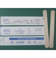 Шпатель деревянный стерильный (Китай)