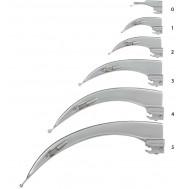 Клинок ларингоскопа Macintosh С KAWE, арт 03.12010.602, 612, 622, 632, 642, 652