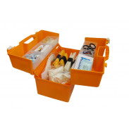Набор скорой травматологической помощи: с комп. шин складных детских, в футляре- саквояже