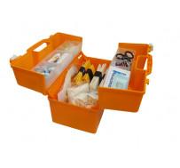 Набор скорой травматологической помощи: с комп. шин пневматических , в футляре- саквояже