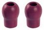 Бордовые ушные оливы для стетофонендоскопа Профи-Кардиолоджи